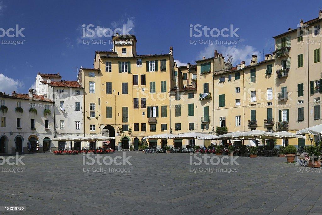 Piazza Anfiteatro stock photo