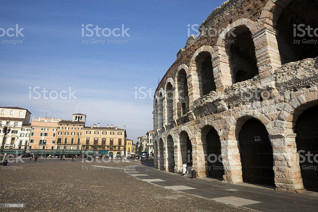 Piazza Bra in Verona – Foto