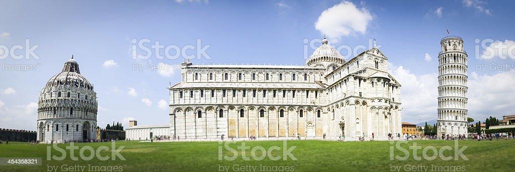 Piazza dei Miracoli in Pisa, Tuscany stock photo