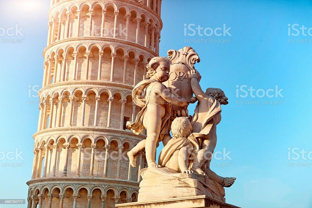 Piazza Dei Miracoli - Pisa. Italy stock photo