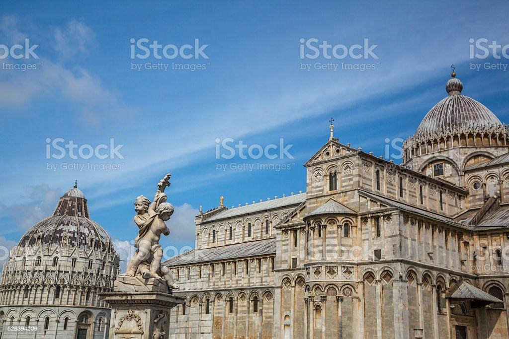 Piazza dei Miracoli, Pisa, Italy stock photo