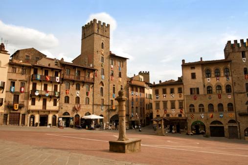 Piazza del Campo, Arezzo