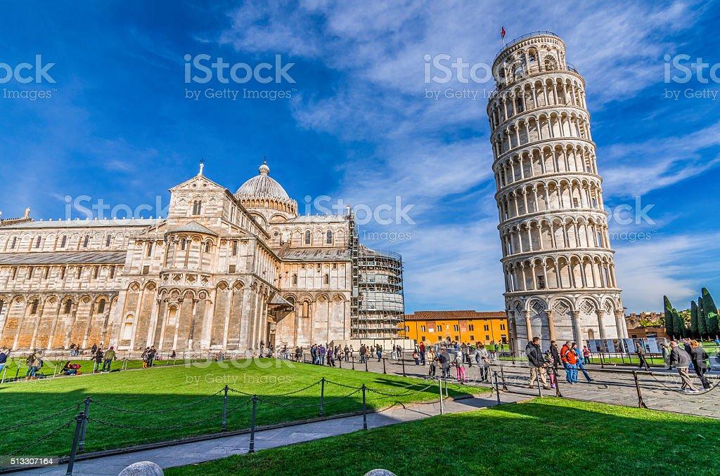 Piazza del Duomo stock photo