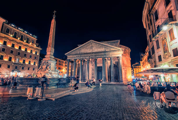 piazza della rotonda - della stock pictures, royalty-free photos & images