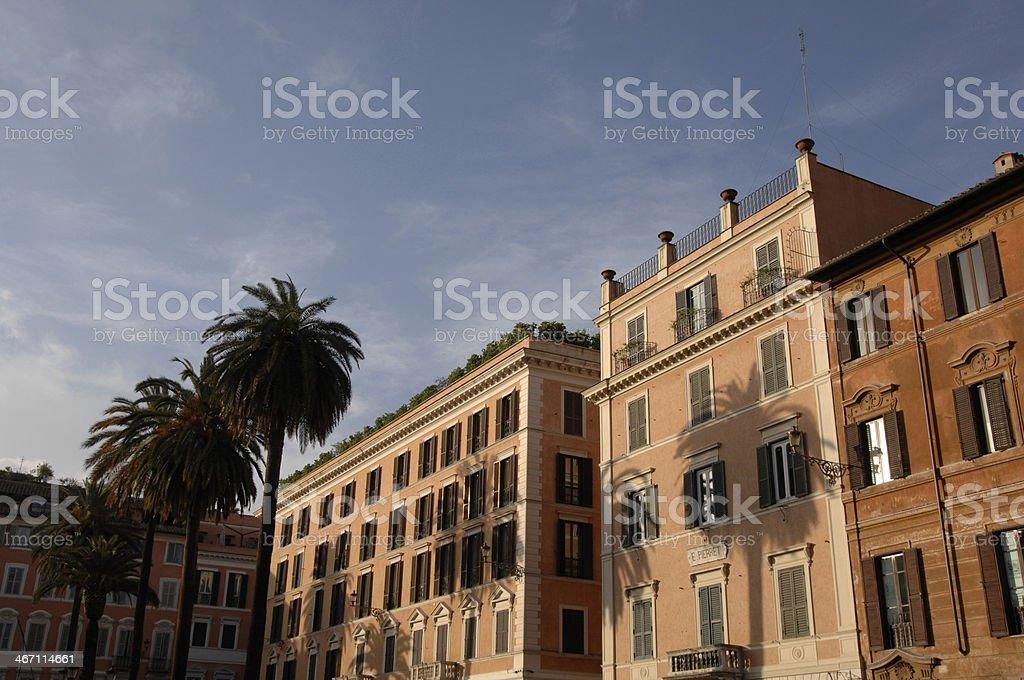 Piazza di Spagna, Rome, Italy royalty-free stock photo