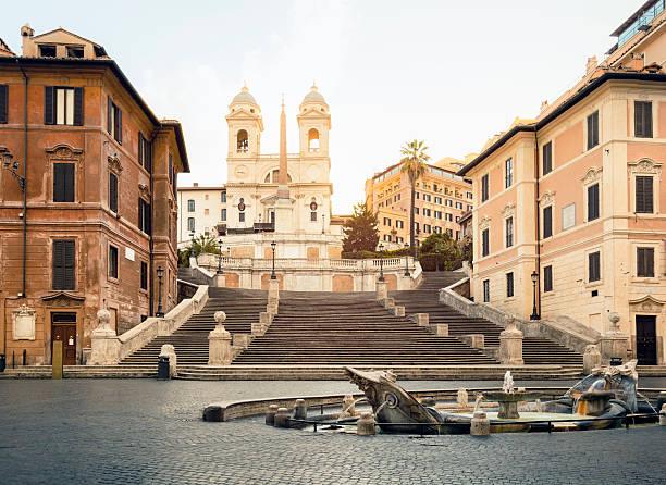 Piazza di Spagna, der Spanischen Treppe, Rom – Foto