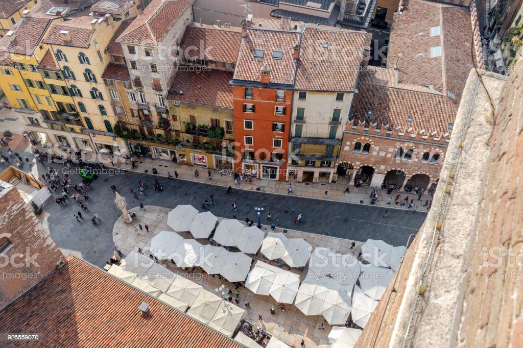 Piazza Erbe in Verona – Foto