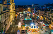 istock Piazza Navona in Rome during Christmas time. Italy. 1136421172