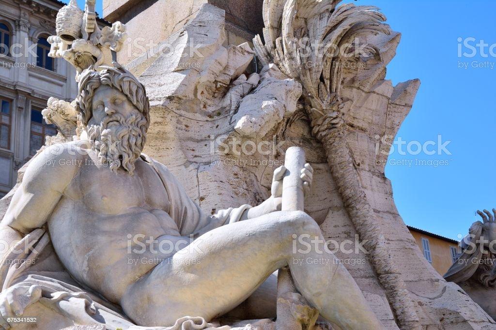 Piazza Navona. - foto de acervo