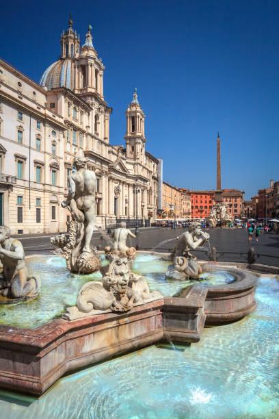 Piazza Navona, Roma - foto de stock