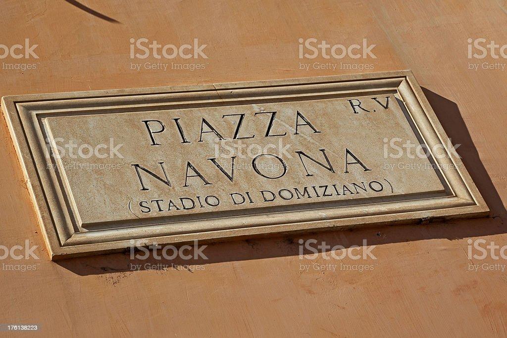 Piazza Navona # 2 XL royalty-free stock photo
