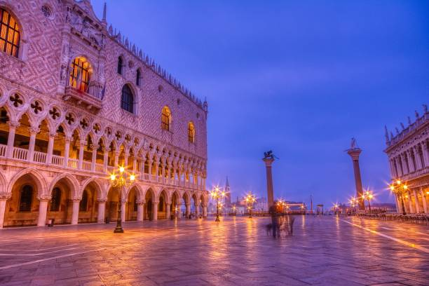 Piazza San Marco and Palazzo Ducale. stock photo