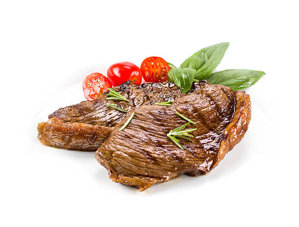 picanha, traditional brazilian barbecue - vleesdelen stockfoto's en -beelden