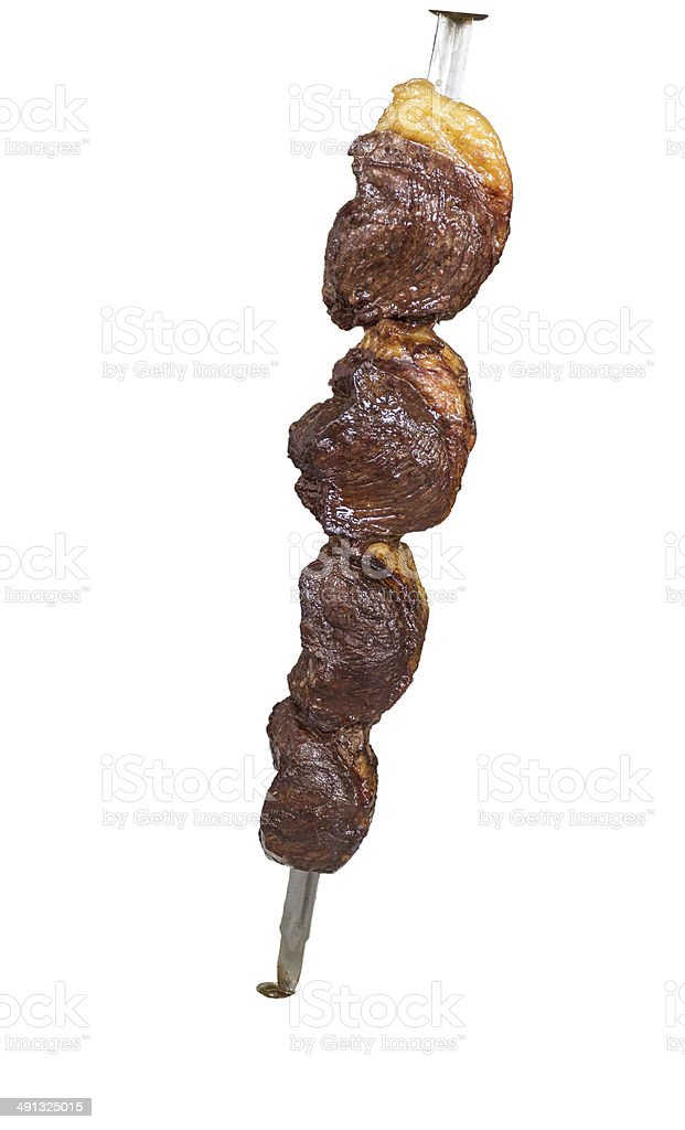 Picanha, traditional Brazilian barbecue. stock photo
