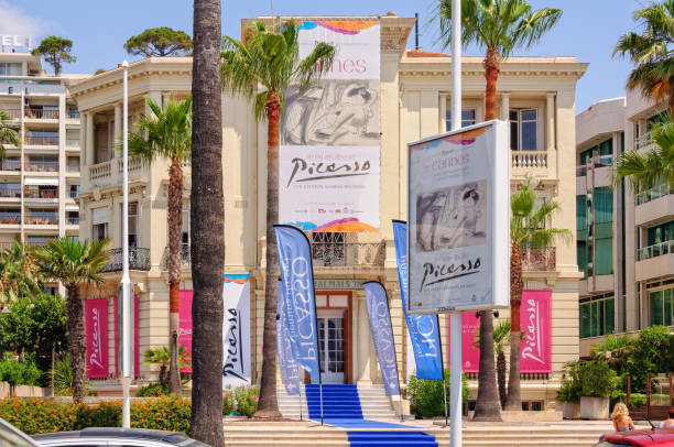 Picasso exhibition - Cannes stock photo