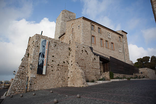 Picasso Museum in Antibes, France stock photo