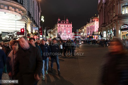 525568423 istock photo Piccadilly Circus at night 1207904610