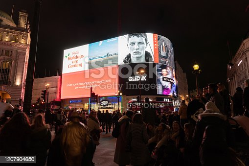 525568423 istock photo Piccadilly Circus at night 1207904650
