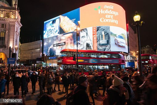 525568423 istock photo Piccadilly Circus at night 1207904737