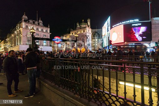 525568423 istock photo Piccadilly Circus at night 1217631113