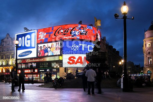 istock Piccadilly Circus at night 596039550