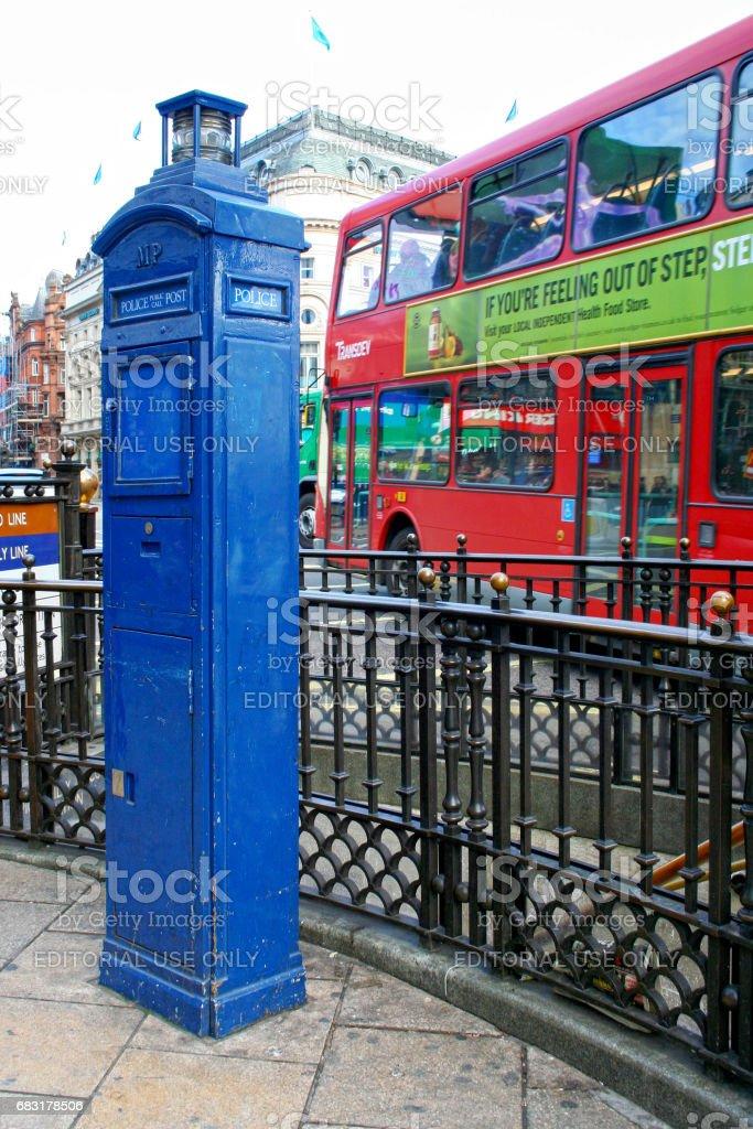 在倫敦皮卡迪利馬戲團 免版稅 stock photo
