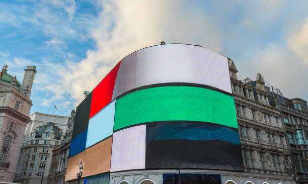 Piccadilly Circus Kreuzung London West End – Foto