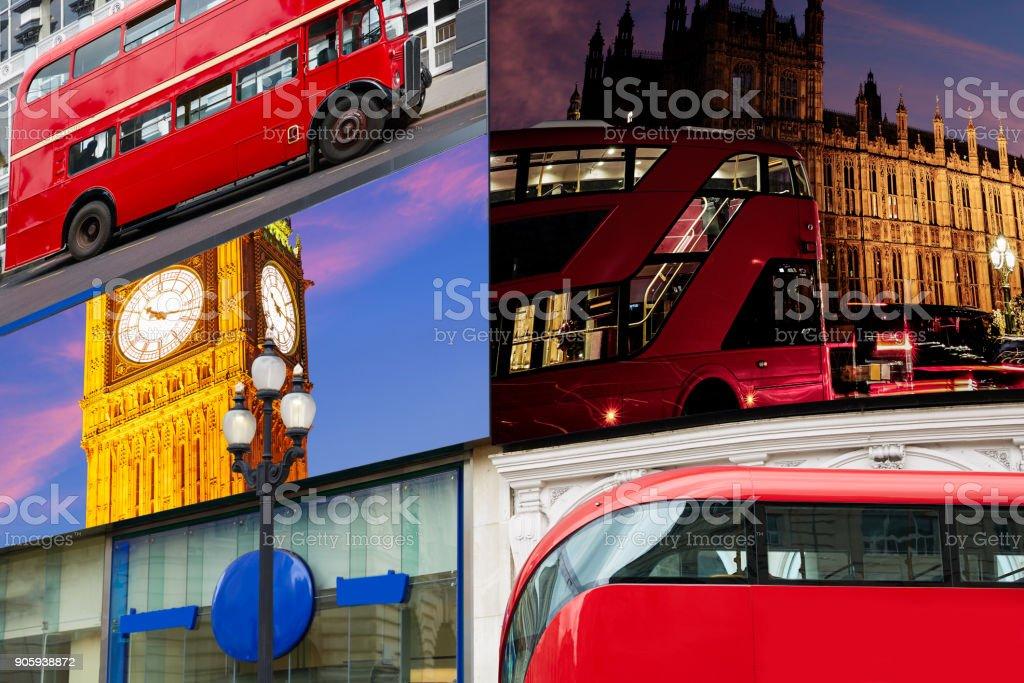 Piccadilly Circus London digital photomount stock photo