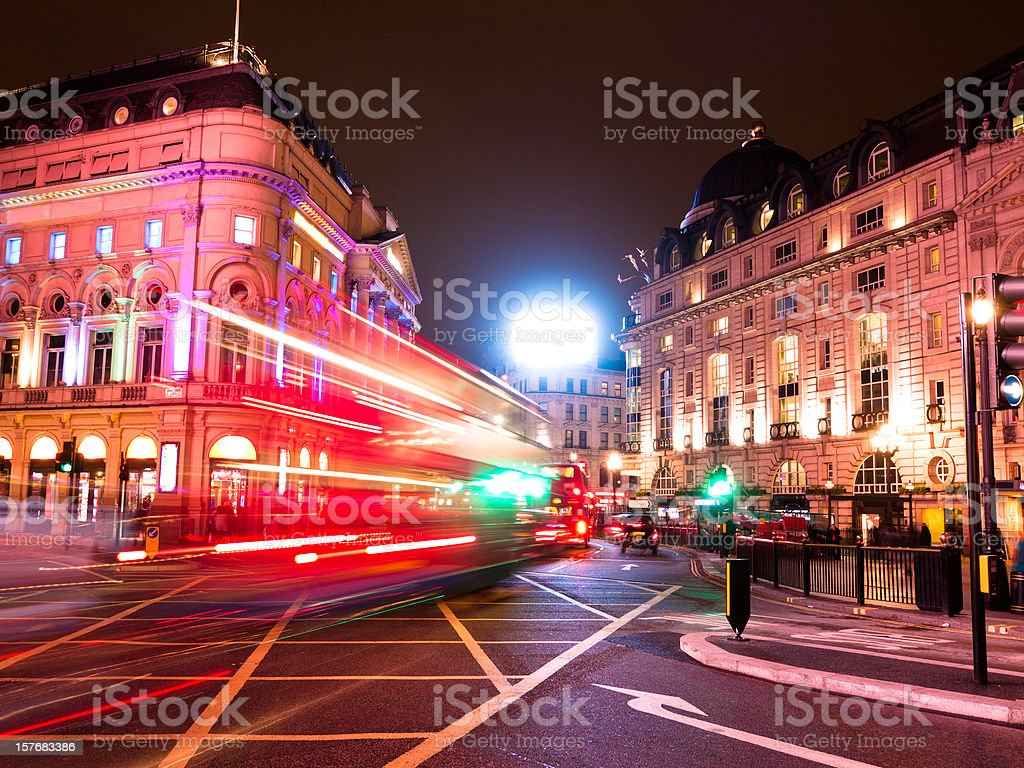 Piccadilly Circus in London – Foto