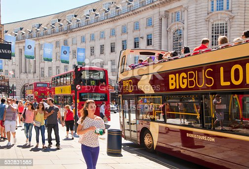 525568423 istock photo Piccadilly Circus, London. 532831585