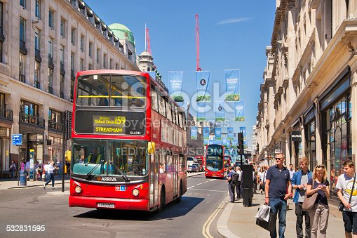 525568423 istock photo Piccadilly Circus, London. 532831595