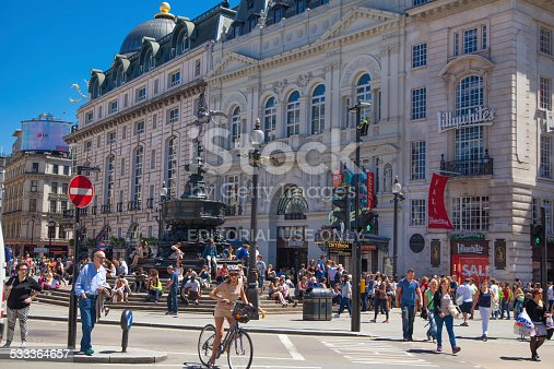 525568423 istock photo Piccadilly Circus, London. 533364657