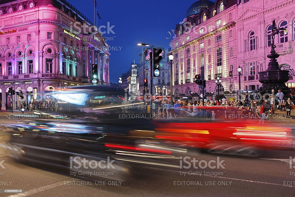Piccadilly Circus royalty-free stock photo