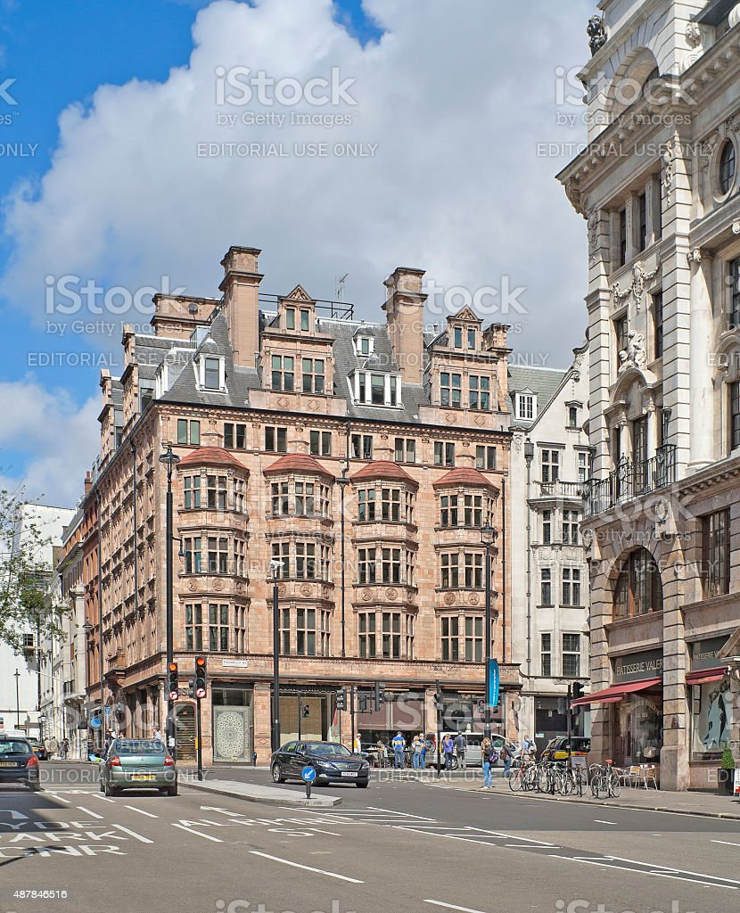 Piccadilly street in London, United Kingdom stock photo