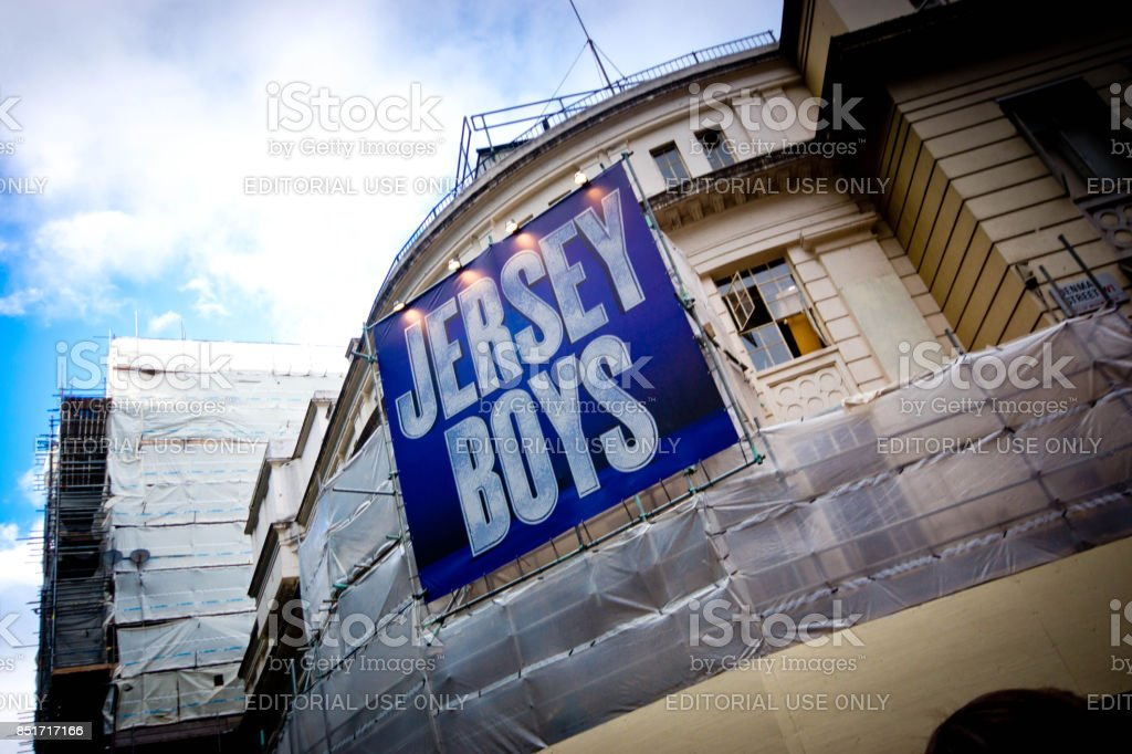 Piccadilly Theatre stock photo