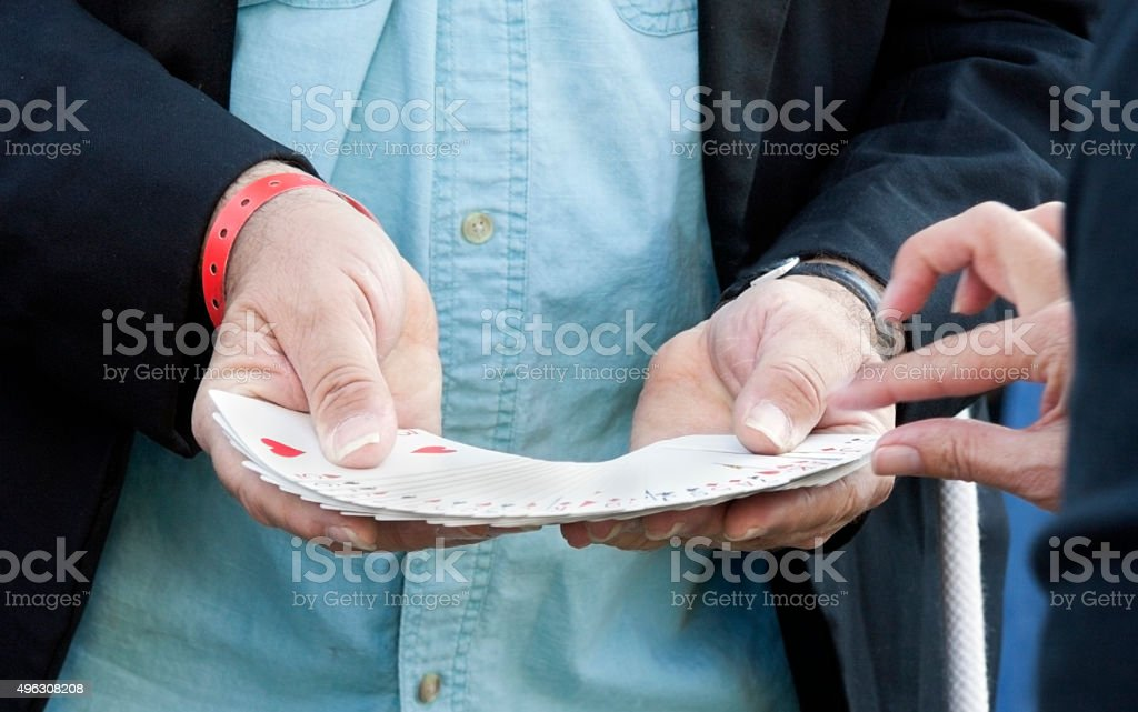 Pick a Card - Royalty-free 2015 Stock Photo