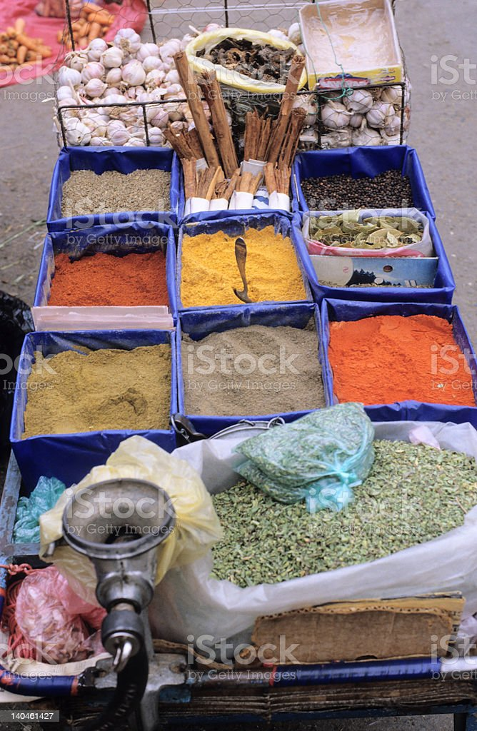 Pick Your Spice royalty-free stock photo