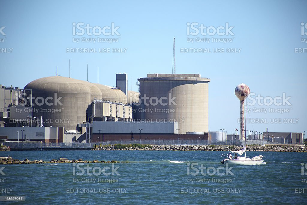 Pickering Nuclear Power Station stock photo