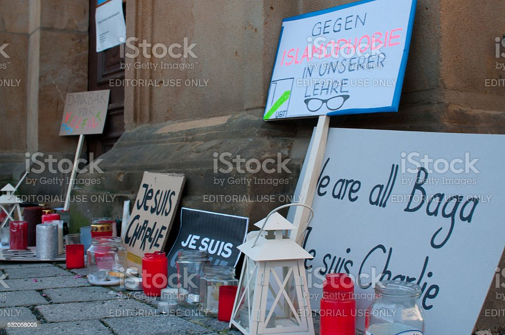 Picket stock photo