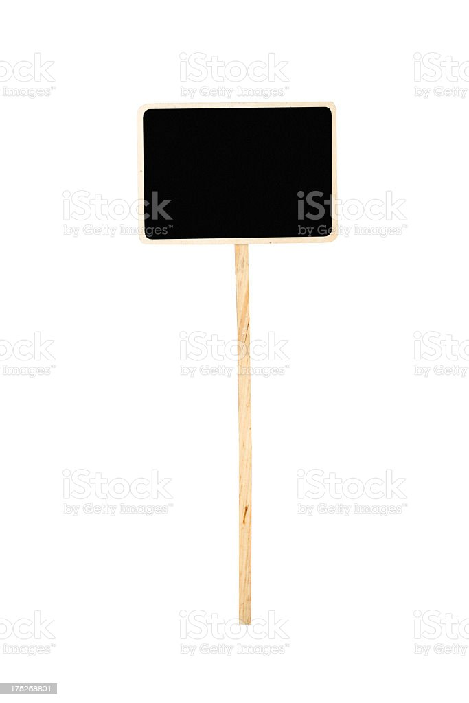picket sign stock photo