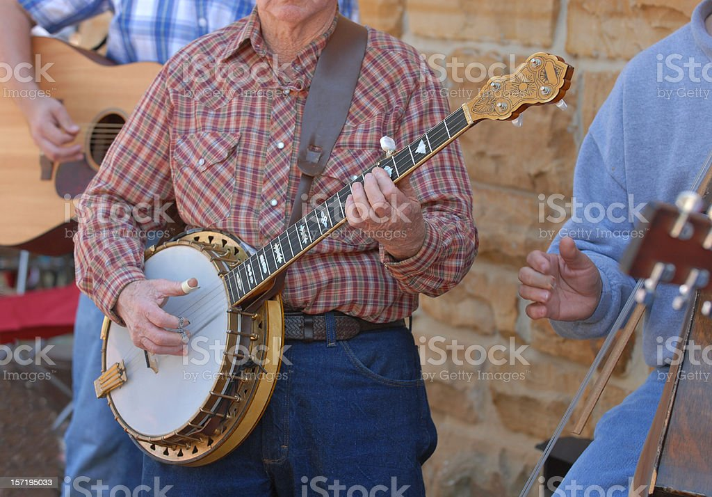 Pickin' and Grinnin' royalty-free stock photo