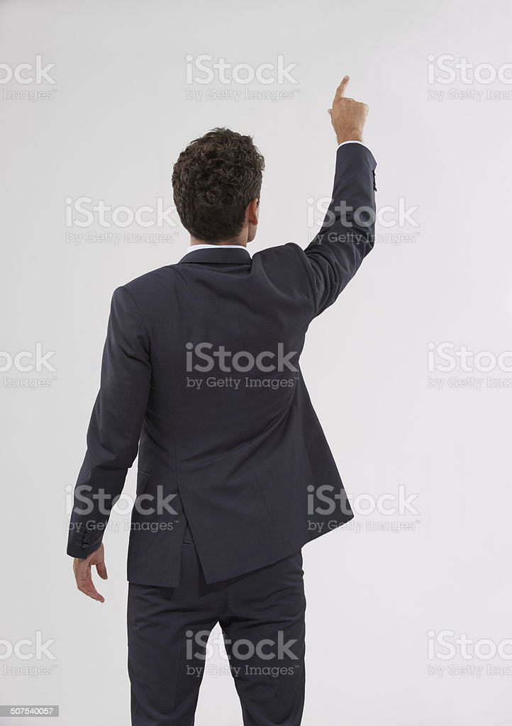 Picking out the best option stock photo