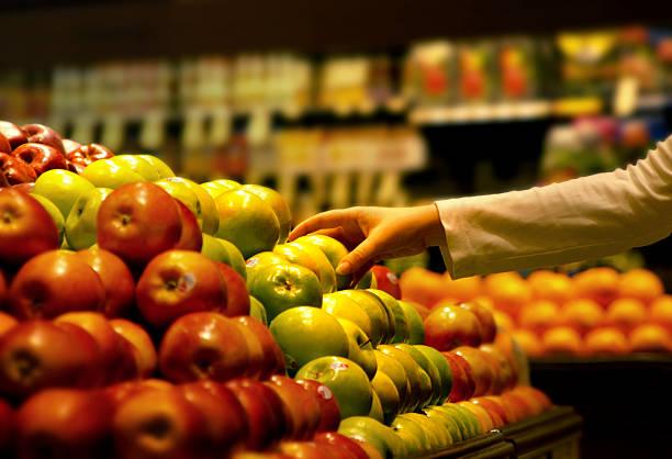 Auswahl des richtigen apple – Foto