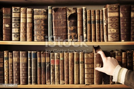 istock Picking the right book 171146477