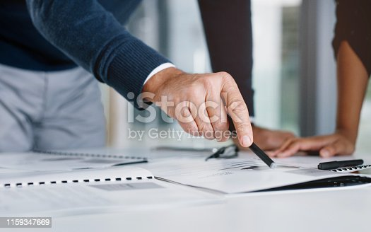 istock Picking up on ways to improving their business 1159347669