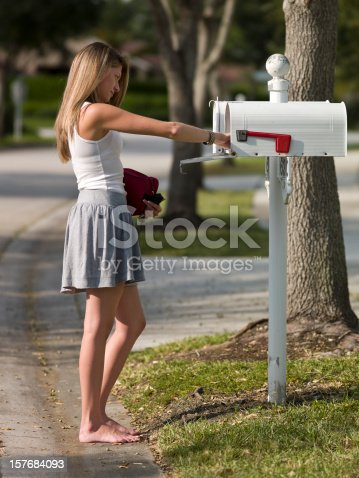 istock picking up the mail 157684093