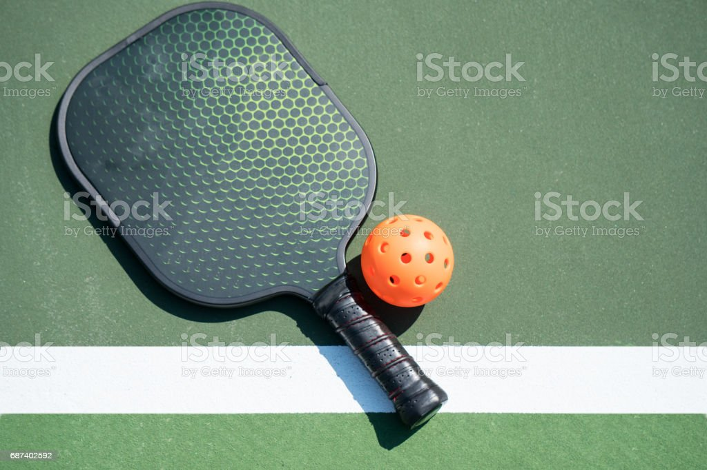 Pickle Ball royalty-free stock photo