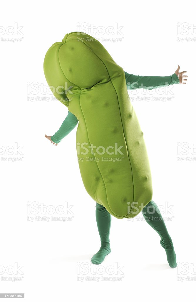 Pickle Man stock photo