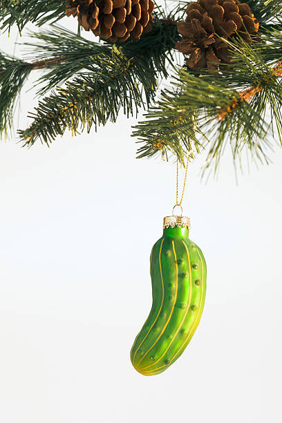 pickle-ornament - ornamentik stock-fotos und bilder