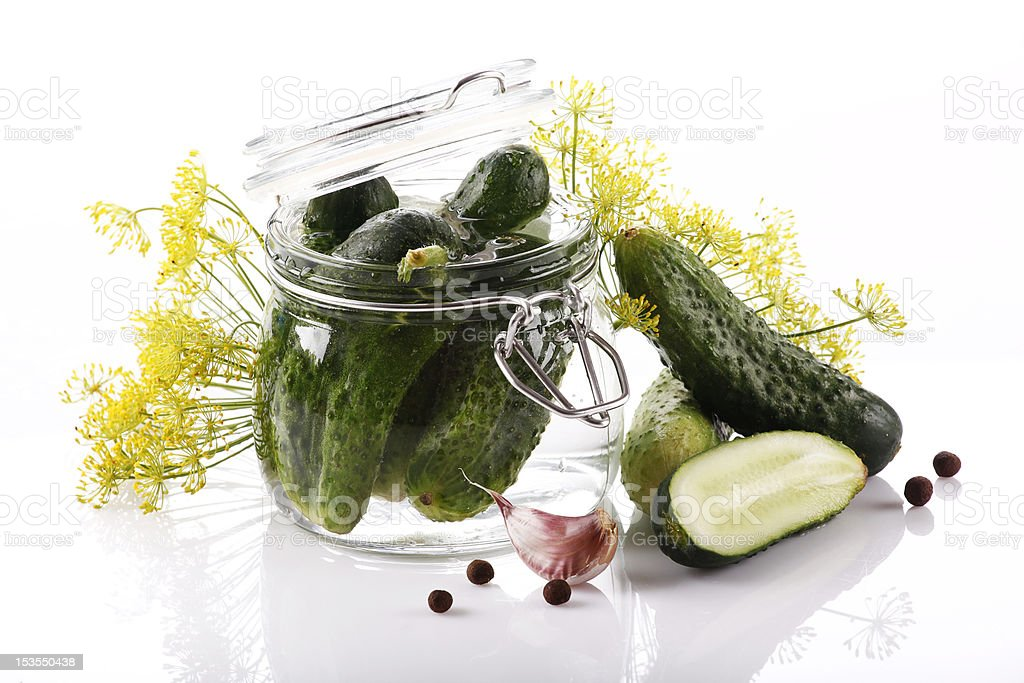 Pickle royalty-free stock photo